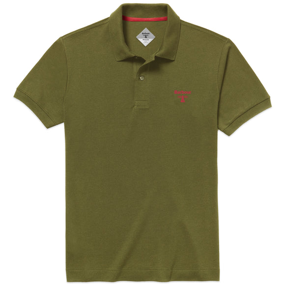 Barbour Beacon Polo - Moss - Arena Menswear