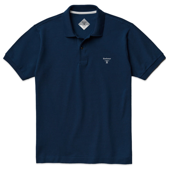 Barbour Beacon Polo - Navy