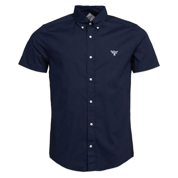 Barbour Beacon Short Sleeve Seathwaite Shirt - Navy