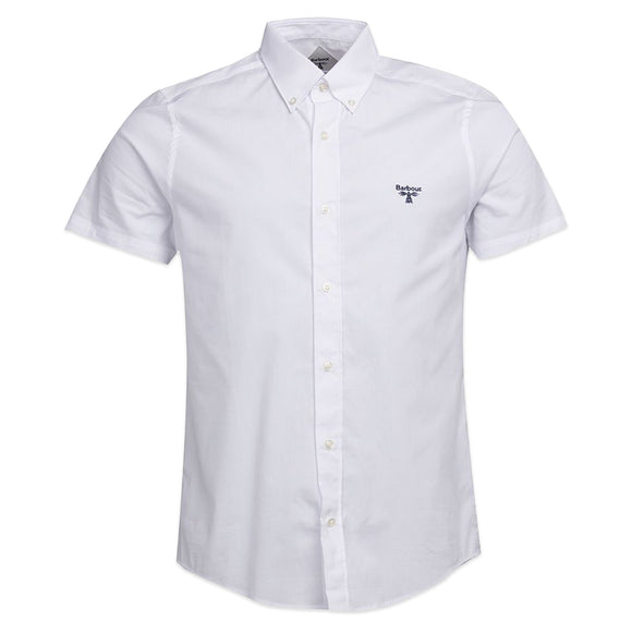 Barbour Beacon Short Sleeve Seathwaite Shirt - White