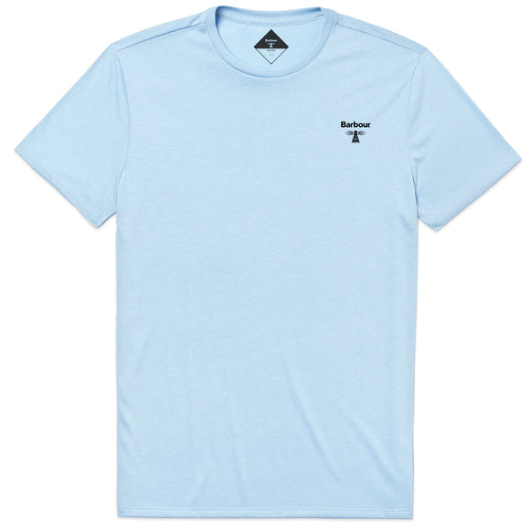 Barbour Beacon T-Shirt - Light Blue - Arena Menswear