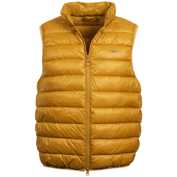 Barbour Bretby Gillet - Lunar Yellow - Arena Menswear