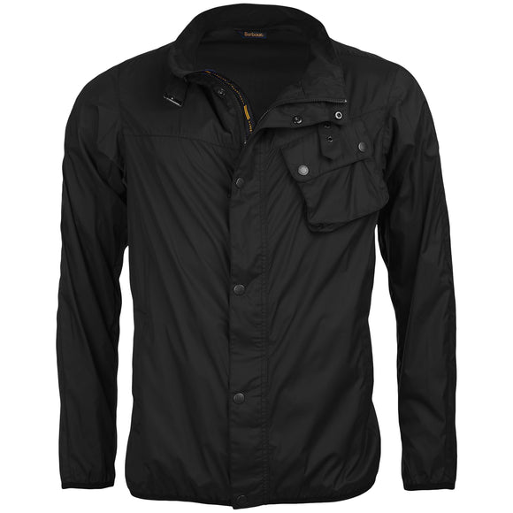 Barbour Dene Casual Nylon Jacket - Black