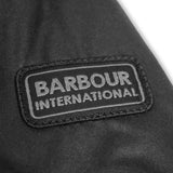 Barbour International Duke Wax Jacket - Black - Arena Menswear