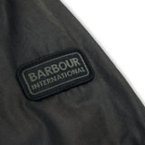 Barbour International Duke Wax Jacket - Sage - Arena Menswear