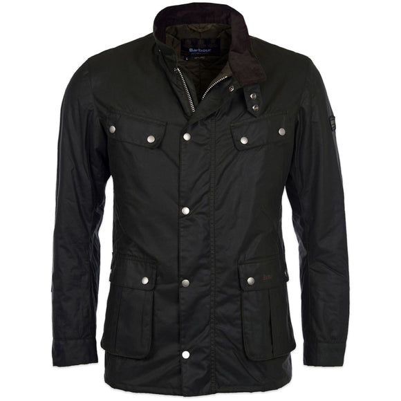 Barbour Duke Wax Jacket - Sage