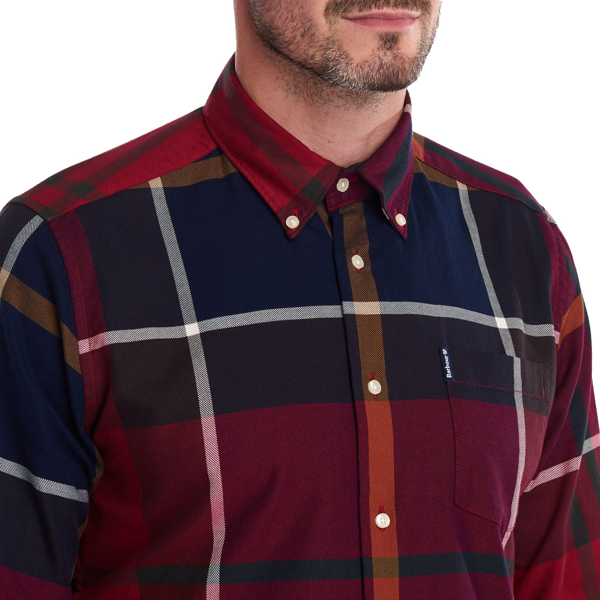 Barbour Dunoon Shirt - Red