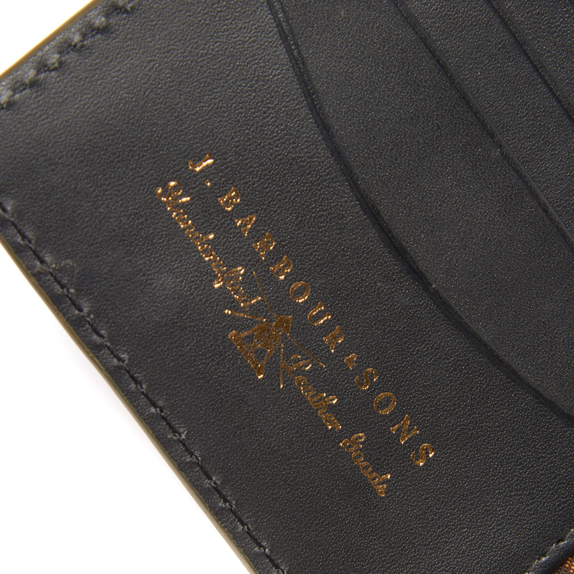 ddbb9de8 Barbour Grain Leather Wallet - Black - Arena Menswear