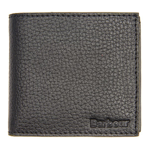 Barbour Grain Leather Wallet - Black