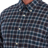 Barbour Highland Check 21 Tailored Shirt - Grey Marl