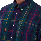 Barbour Highland Check 9 Tailored Shirt - Green