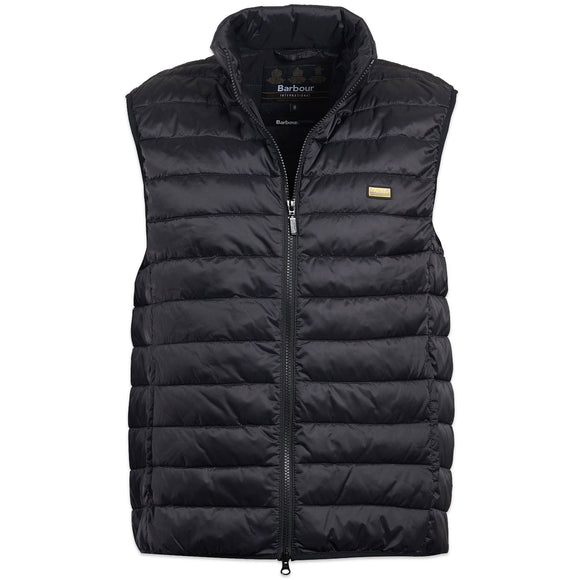 Barbour Impeller Gillet - Black - Arena Menswear