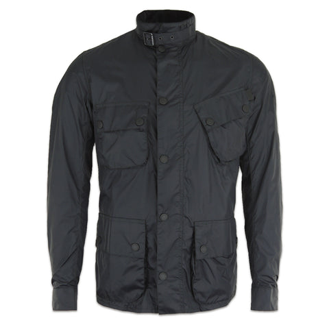 Men's Barbour International Nylon Jacket - Black - Arena Menswear