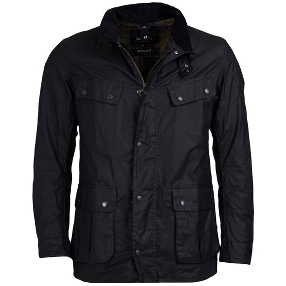 Barbour Lightweight 4oz Duke Jacket - Black