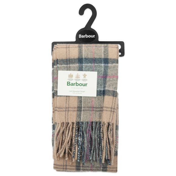 Barbour Tartan Lambswool Scarf - Dress