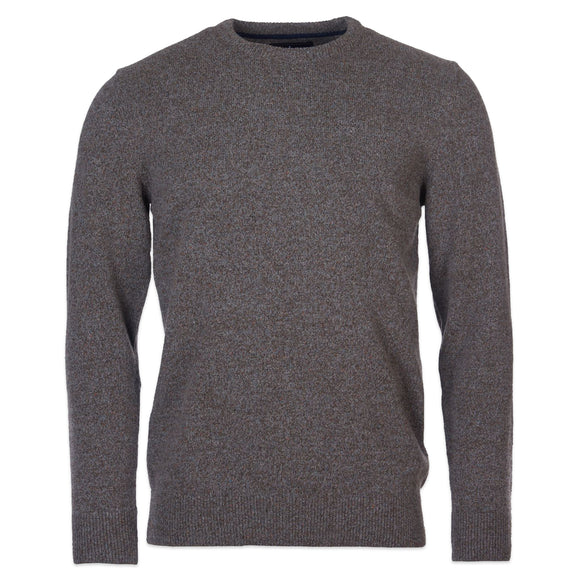 Barbour Tisbury Crew Neck Jumper - Fog