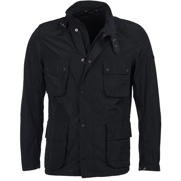 Barbour Weir Casual Jacket - Black - Arena Menswear