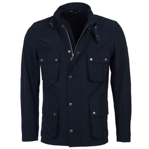 Barbour Weir Casual Jacket - Navy - Arena Menswear