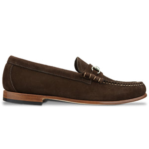 G.H. Bass Weejuns Lincoln Reverso - Dark Brown Suede