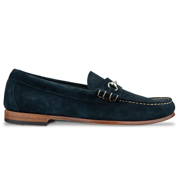 G.H. Bass Weejuns Lincoln Reverso - Navy Suede