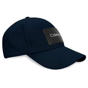 Calvin Klein Leather Patch Cap - Navy