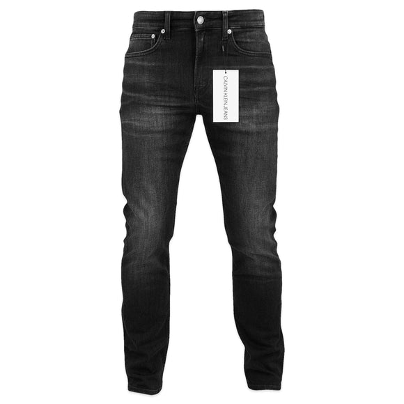 Calvin Klein CKJ 058 Slim Tapered Jeans - Lille Black (Washed Grey)