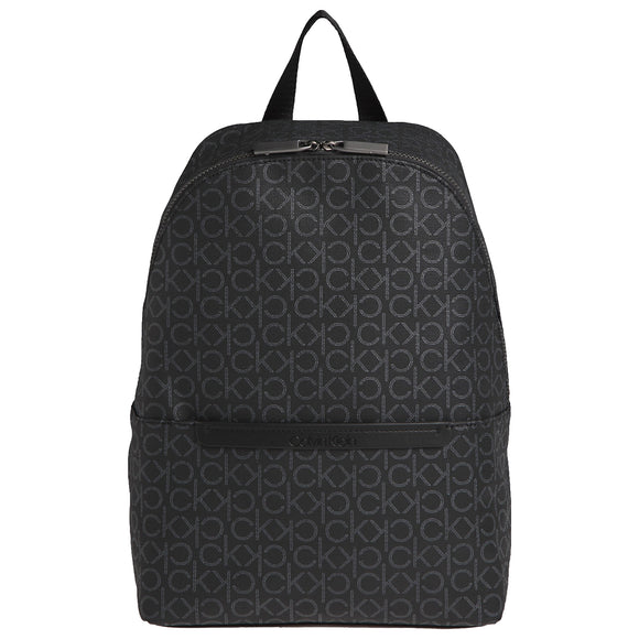 Calvin Klein Mono Round Backpack - Black