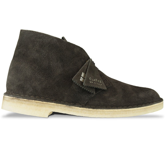 Clarks Originals New Desert Boot - Chocolate Suede