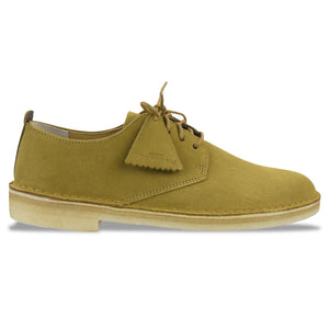 Clarks Originals Desert London - Dark Ochre Suede - Arena Menswear