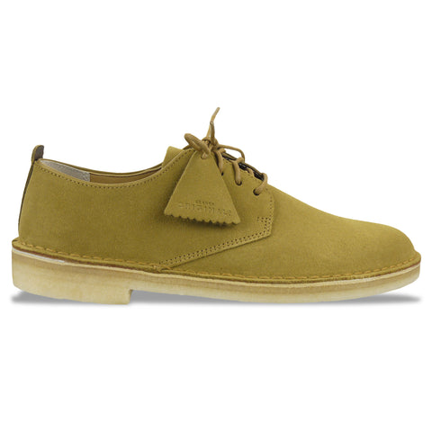 Clarks Originals Desert London in Dark Ochre Suede