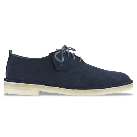 Clarks Originals Desert London in Midnight Suede - Arena Menswear - 1