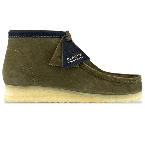 Clarks Originals Wallabee Boot - Olive Interest