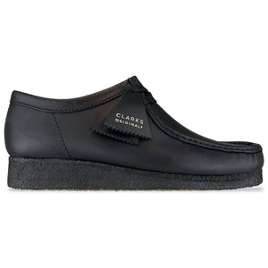 Clarks Originals New Wallabee - Black Leather
