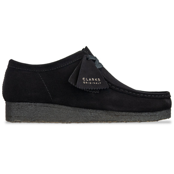 Clarks Originals New Wallabee - Black Suede