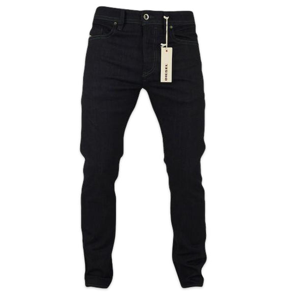 Diesel Buster 607A Tapered Stretch Jeans - Black