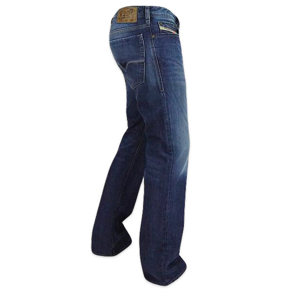 authorized site on feet at great quality Diesel Zatiny 8XR Bootcut Jeans - Dark Blue