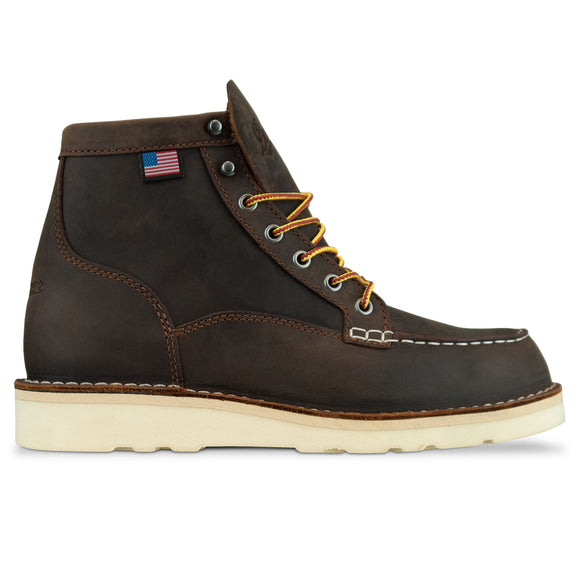 Danner Bull Run Moc Toe Boot - Brown
