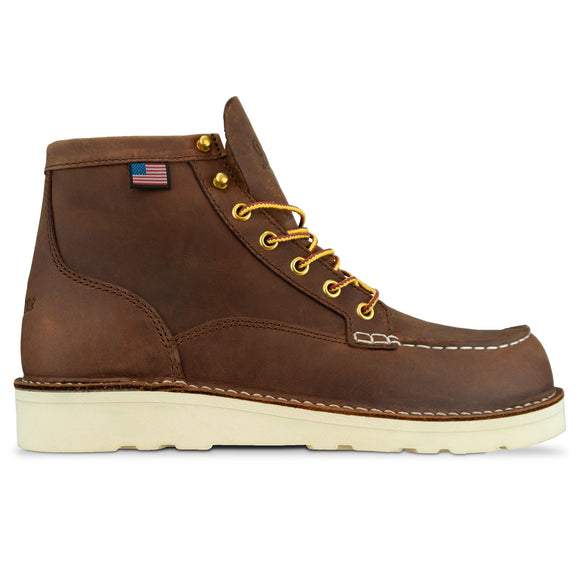 Danner Bull Run Moc Toe Boot - Tobacco