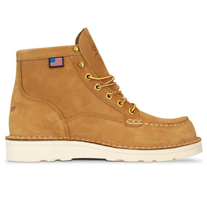 Danner Bull Run Moc Toe Boot - Wheat