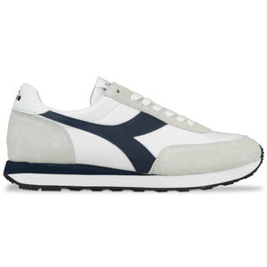 Diadora Koala Trainers - White/ Blue Denim
