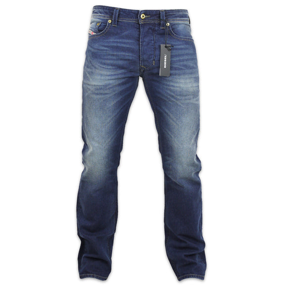 Diesel Larkee 853R Straight Fit Jeans - Blue - Arena Menswear