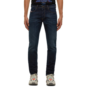 Diesel Buster 9HN Tapered Fit Jeans - Dark Blue