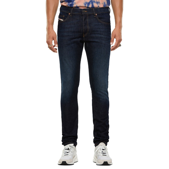 Diesel D-Luster 9EQ Slim Fit Jeans - Dark Blue