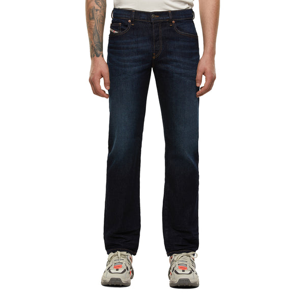 Diesel D-Mihtry 9EQ Straight Fit Jeans - Dark Blue