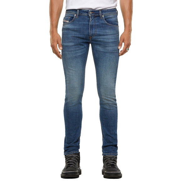 Diesel Thommer 9DB Skinny Fit Jeans - Mid Blue