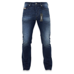 Diesel Buster 0853R Tapered Stretch Jeans - Dark Blue - Arena Menswear
