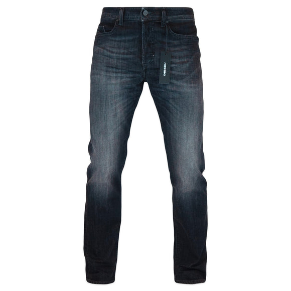 Diesel Buster 87AM Tapered Stretch Jeans - Dark Grey - Arena Menswear