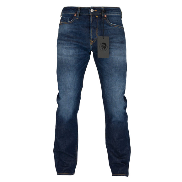 Diesel Buster 84AC Tapered Fit Jeans - Medium Blue