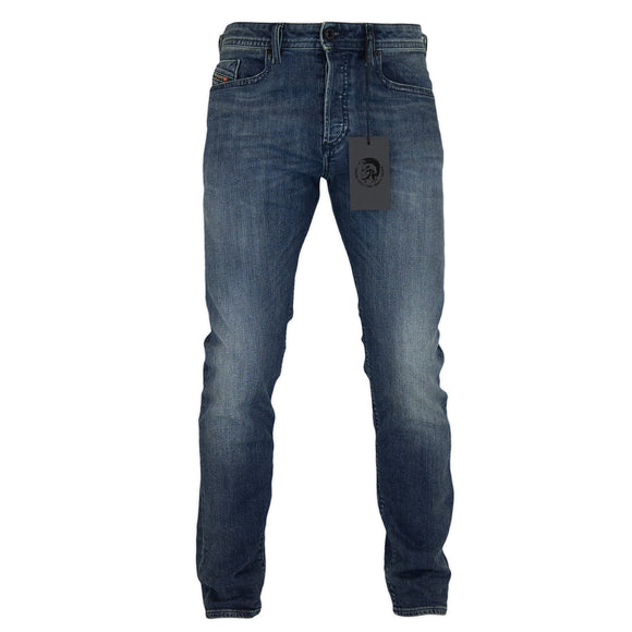 Diesel Buster 84AS Tapered Fit Jeans - Dark Blue