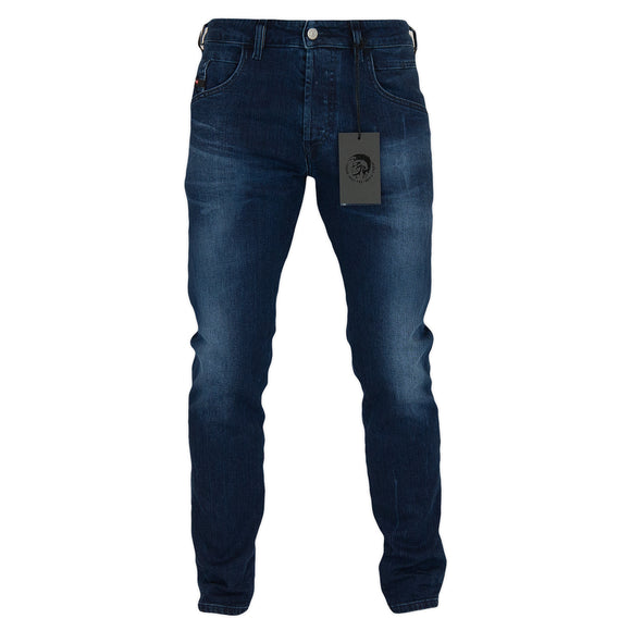 Diesel D-Bazer 83AT Tapered Fit Jeans - Dark Blue
